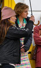 Emma Corrin prinsessa Dianan roolissa (1)