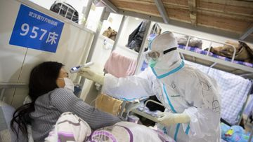 Wuhan korona sairaala epa