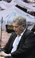 Sauli Niinistö Ylellä Lehtikuva
