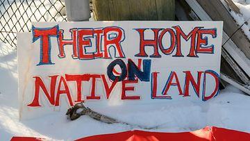kanada rautatiet alkuperäiskansat protestit
