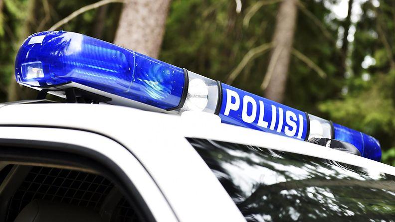 Poliisi kuvituskuva poliisiauto. LK ladattu 27.2.