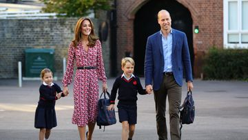 prinsessa Charlotte herttuatar Catherine prinssi George prinssi William