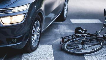 polkupyörä onnettomuus
