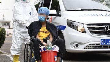 AOP, koronavirus, sairaala, Kiina
