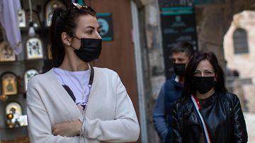AOP, koronavirus, sairaala, Italia, hengityssuojain