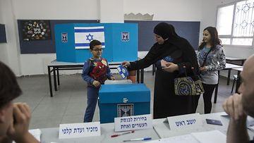vaalit israel syyskuu 2019