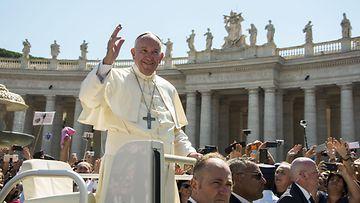 Paavi Franciscus syyskuu 2016
