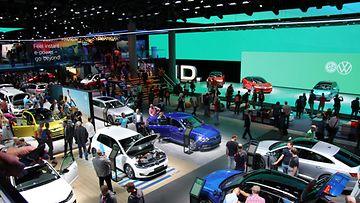 frankfurtin autonäyttely iaa 2019