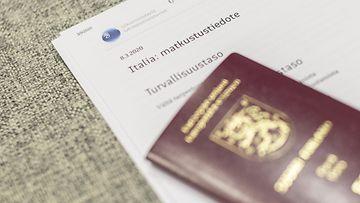 LK Italia Suomi koronavirus passi