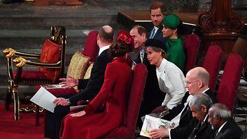 Cambridgen herttuapari ja Sussexin herttuapari 9.3.2020