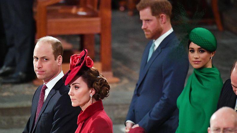 Cambridge ja Sussexin herttuaparit 9.3.2020
