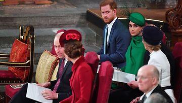 Cambridgen ja Sussexin herttuaparit 9.3.2020
