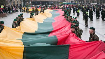 Liettua itsenäisyyspäivä lippu aop