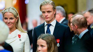 Mette-Marit ja Marius 2015