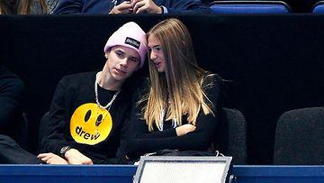 Rome Beckham ja tyttöystävä Mia 17.11.2019