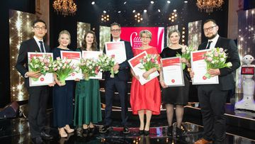 SJP voittajat 2019 suuri journalistipalkinto 2019