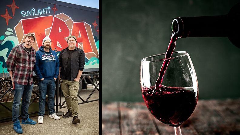 viini suvilahti wine fest