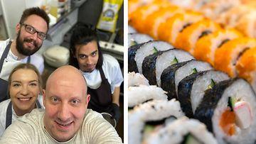 sushi ravintola ora Sasu Laukkonen