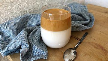 dalgona whipped coffee vatkattu kahvi
