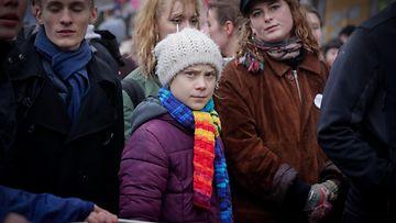 Greta Thunberg ilmastomielenosoitus Bryssel 6.3.2020 1