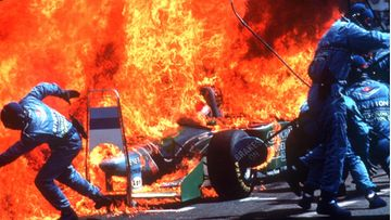 Jos Verstappen, tulipalo, Hockenheim, 2016, Saksan GP