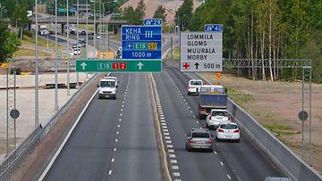 moottoritie espoo turku liikenne