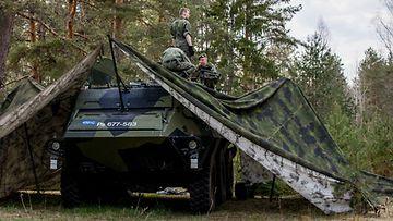 LK puolustusvoimat pasi