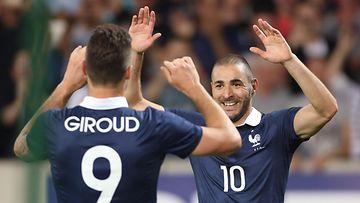 Giroud & Benzema