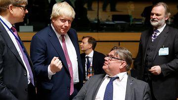 Boris Johnson ja Timo Soini
