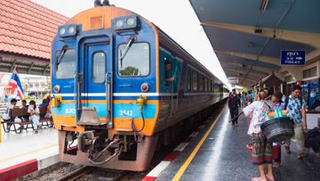 thaimaalainen juna-asema