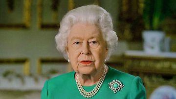 kuningatar Elisabet ja historiallinen koronapuhe
