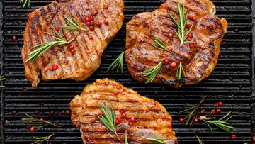 kassler liha pihvi grillaus grilli