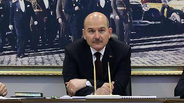Süleyman Soylu turkki sisäministeri aop