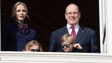 Albert, Charlene ja lapset 2020