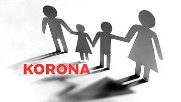 Korona perheessä
