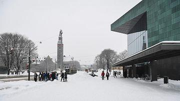 AOP, Musiikkitalo, Helsinki, talvi