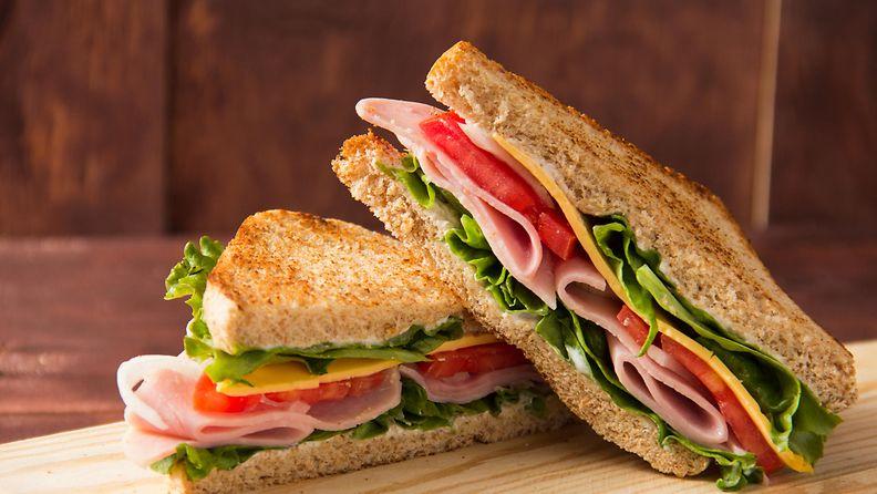 voileipä kerrosleipä sandwich