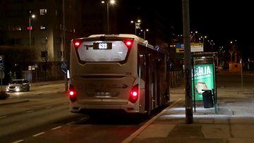 HSL bussi kuvitus 2019