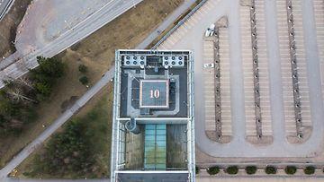Helikopterin laskeutumispaikka Espoossa