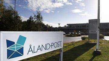 LK Åland post Ahvenanmaan posti