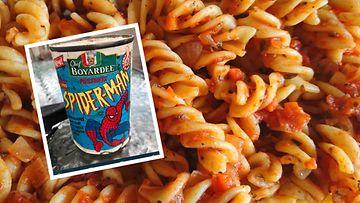 Spider-Man-pasta