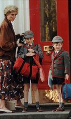 prinsessa Diana prinssi Harry prinssi William