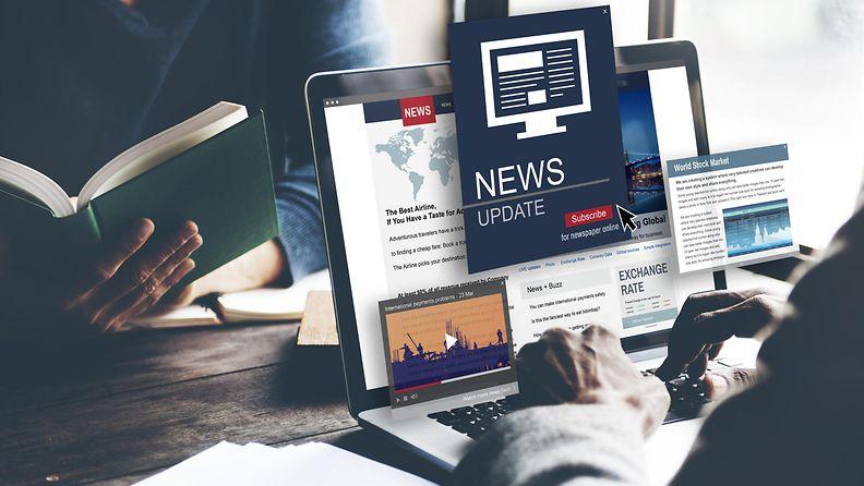 Uutisia ruudulla