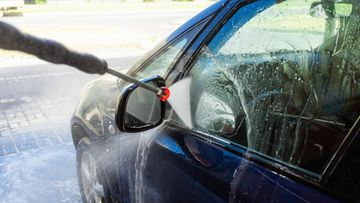 auton peseminen autopesu painepesuri