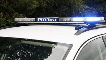 LK poliisiauto