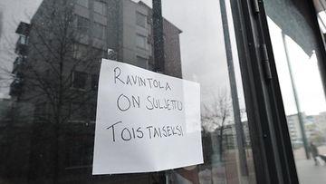 LK Ravintola suljettu