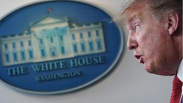 Donald Trump valkoinen talo LK 100520