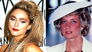 Madonna prinsessa Diana