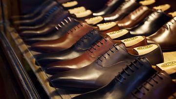 kengät, näyteikkuna