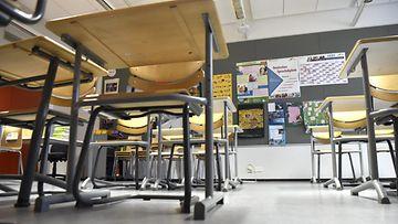 LK Luokka huone tyhjä